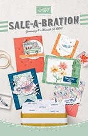 2017 Sale-a-bration Catalog www.stampwithanita.com