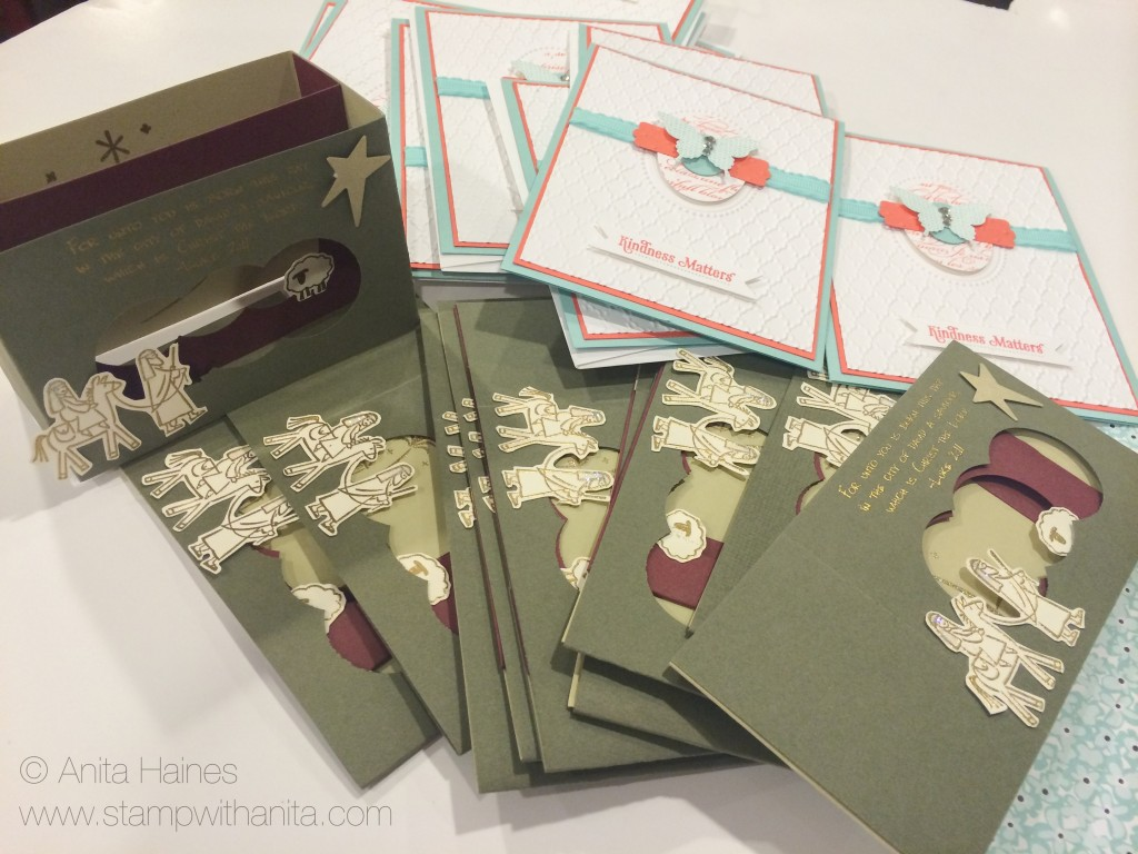 Christmas Cards and Thank You cards that I never mailed out