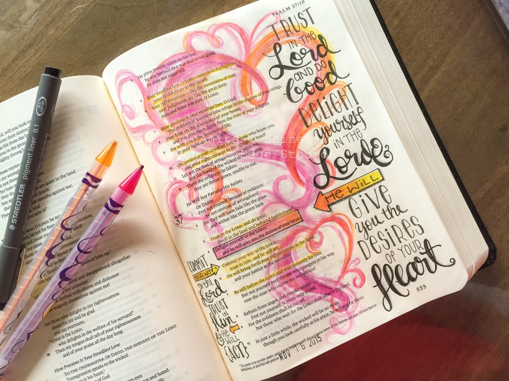 psalm 37 -www.stampwithanita.com