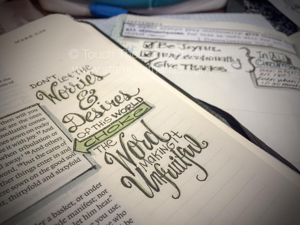 No Worries Bible Journaling-www.stampwithanita.com