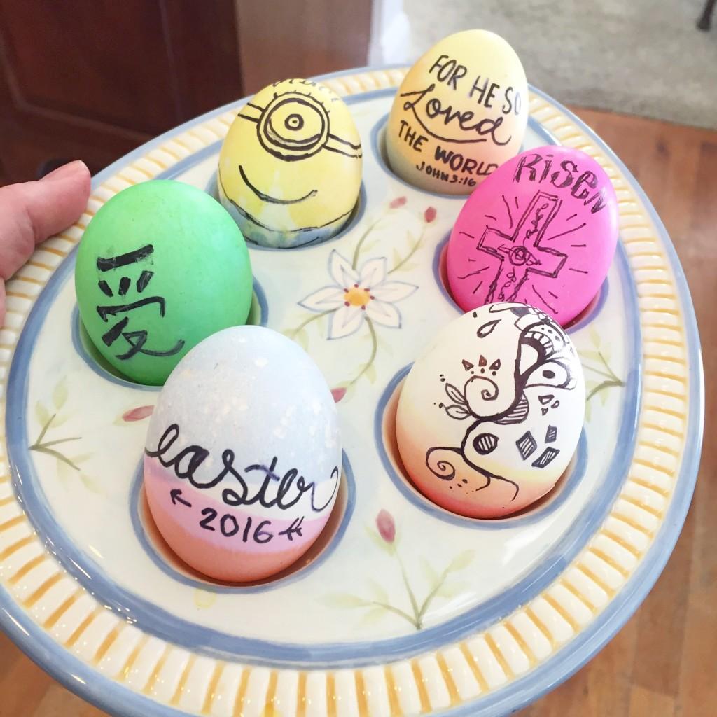 Sharpie Easter Eggs www.stampwithanita.com