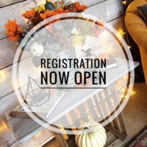 Fall Retreat Registration Open